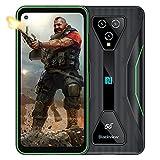 5G Móvil Resistente, Blackview BL5000 8GB+128GB Smartphones Libre 6.36' FHD+, 4980 mAh Carga Rápida, MediaTek Dimensity 700 Dual SIM Smartphone Resistente - Verd