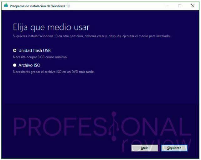 como instalar windows 10 con un usb 2