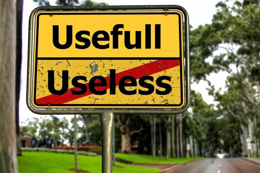 usefull useless